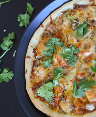 Bacon and Prawn Pizza