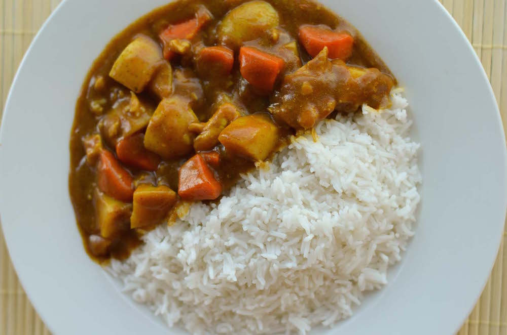 Japanese Chicken Curry Rice Recipe — Dishmaps
