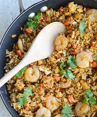 Thai Fried Rice with Shrimp Recipe