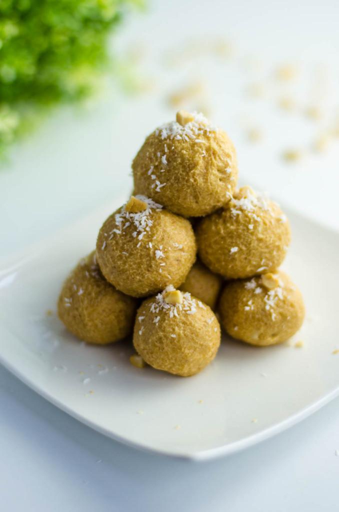lentil cashew Ladoo