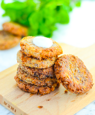 Leftover Mashed Potato Pancakes with Spices