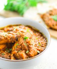 Potato, Chicken and Tomato Curry
