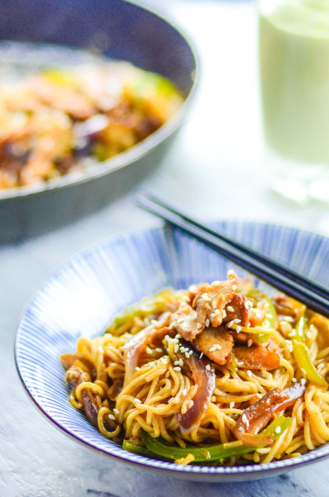 Teriyaki Chicken Noodle