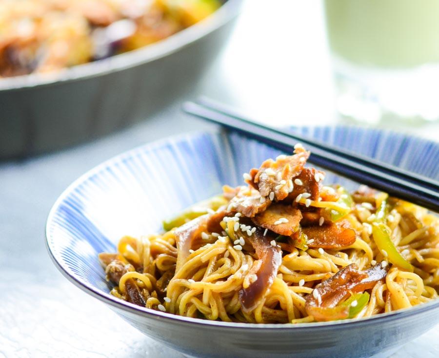 Teriyaki Chicken Noodle Fry