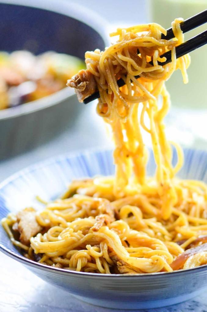 Teriyaki Chicken Noodle Recipe