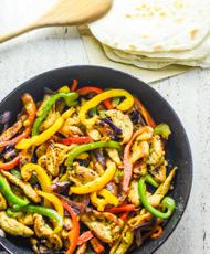 The Best Chicken Fajitas Recipe