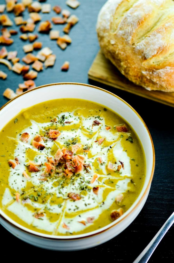 Curried Butternut Squash and Carrot Soup - Chindian Kitchen