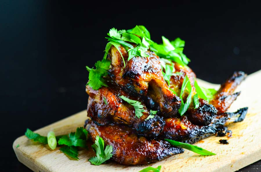 Baked Sticky Tamarind Chicken Wings Recipe