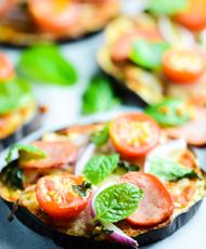 Eggplant Pizzas Recipe