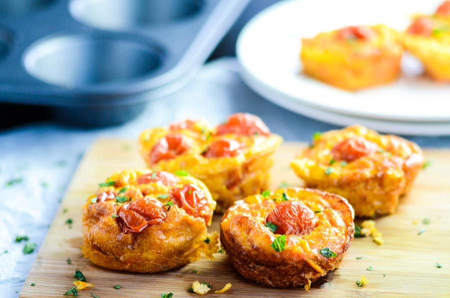 Mini Cherry Tomato Quiche Recipe
