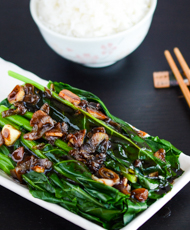 Chinese Broccoli with Oyster Sauce Featured
