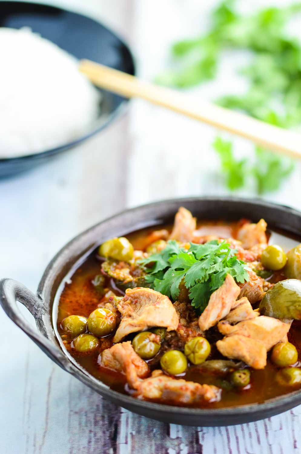 Another popular Thai Curry, Jungle Curry that is a healthier curry ...